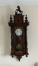 More details for victorian vienna wall clock - fully working