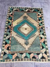 Anatolian Turkish Oushak Rug,3�8X5�4 excellent Condition