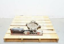 United Conveyor Ucc 190155 Pneumatic Steel Wafer 10in Butterfly Valve