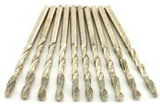 """10pc 1/8"""" Diamond Coated H S S Drill Bit Set For Glass Marble Tile Stone DHD1810"""