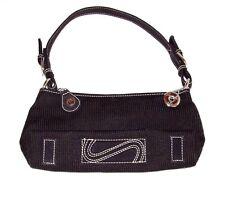 SAK Evening Clutch Handbag, Black, Silver, Stylish,