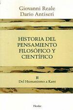 Historia del pensamiento filosófico y científico II. ENVÍO URGENTE (ESPAÑA)
