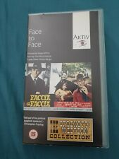 Face To Face VHS - RARE cult spaghetti western