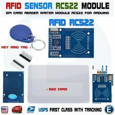 RFID RC522 RF SPI Card Sensor Arduino module with 2 tags MFRC522 DC 3.3V USA