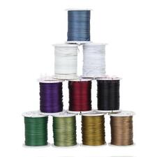 10 Rolls Colors Tigertail Nylon Coated Stainless Beading Wire Cord 0.45mm