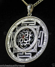 Anhänger mit Edelsteinen aus Silber tibetischem echten runde