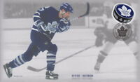 CANADA 2017 TORONTO MAPLE LEAFS 100TH ANNIVERSARY - WENDEL CLARK FIRST DAY COVER