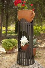 COLONNE DE FLEURS ALBERO 60 cm Tabouret à métal blum-côté jardinières