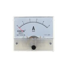 85C1-A tester di pannello analogico di corrente DC 5A AMP amperometro Z3P7