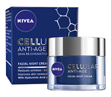 Nivea Cellular Anti-Age Skin Rejuvenation Face Night Cream - 50 ml New