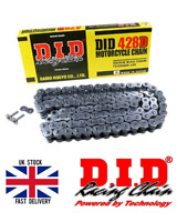 NEW DID STANDARD MOTORCYCLE BLACK DRIVE CHAIN - 428 428D / 108L 108 L Links