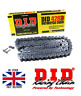NEW DID STANDARD MOTORCYCLE BLACK DRIVE CHAIN - 428 428D / 116L 116 L Links