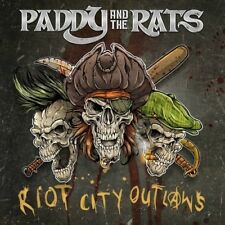 Paddy and the Rats Riot City Outlaws New CD