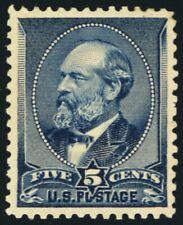 216, Mint OG H XF/Superb 5¢ Very Pretty Stamp! - Stuart Katz