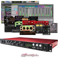 Focusrite Scarlett 18i20 USB 2.0 Audio Interface w/ Software Recording Bundle