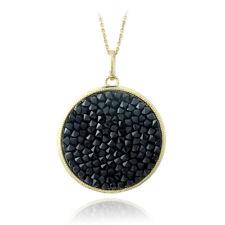 Crystal Ice Black Crystal Rocks Necklace Made with Swarovski Elements