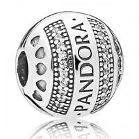 PANDORA Clip Logo Hearts 797433CZ