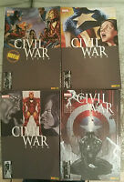 "Panini comics lot "" Civil War Extra "" 1 à 4 en édition collector"