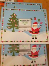 Lot of 6 Hard Christmas Gift Boxes Retail $15