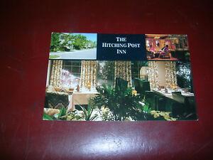 The Hitching Post Inn, Cheyenne, Wyoming - vintage postcard