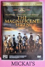 THE MAGNIFICENT SEVEN Yul Brynner Eli Wallach Steve McQueen DVD Special Edition