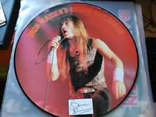 12'' IRON MAIDEN'S BRUCE DICKENSON - INTERVIEW PICTURE DISC - TELL TALES UK 1986