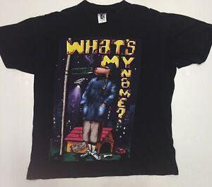 Vintage Snoop Dogg 1993 T Shirt Tee Death Row Rap Tee Whats My Name Hip Hop Men