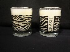 Crash Zebra Design Animal Pattern Soy Candle - New - Made in USA - Set of 2