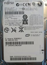 "Fujitsu MHW2160BH PL CA06820-B41800C1 (0080891F) 160gb 2.5"" Sata Laptop HDD"