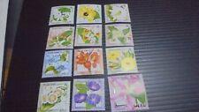 PITCAIRN ISLANDS 2000 SG 564-575  FLOWERS MNH