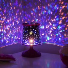 STARRY STAR LAMP - COLOURFUL PROJECTION LIGHT MOOD NIGHT LIGHTS CHILDRENS ROOM