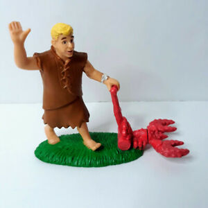 Mattel The Flintstones Movie Vintage Barney Rubble Collectible Mini Figure