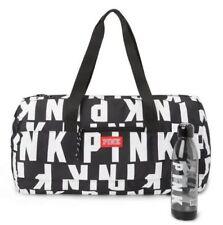 Victoria's Secret PINK CAMPUS Duffle Weekender Tote Bag Logo & Water Bottle