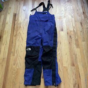 Men's Vintage 90's The North Face Gore-Tex Suspender Mountain Light Snow Pants L