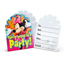 Minnie's Clubhouse Minnie Mouse Disney Birthday Party Invitations w/Envelopes 8