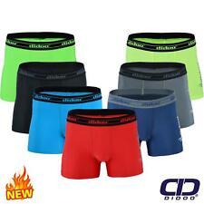 Didoo Men's Compression Boxers Sports Shorts Trunks Underwear Briefs UnderPants