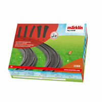 MARKLIN my world Plastic Track Extension Pack HO Gauge MN23300