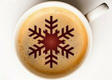 Christmas Snow Flake 3 Coffee Cup,Face Painting, confectionery STENCIL CHRS031