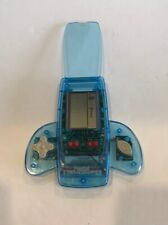 Portable BLUE Pocket Hand Held Electronic Video Game Player Spaceship- 11 Games