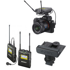Sony UWP-D11 Wireless Lavalier Mic System with SMAD-P3 Shoe Adapter for Sony a7S