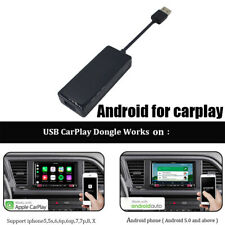 Auto USB Smart Link Carplay Dongle GPS For Android IOS Apple Radio MP5 Player