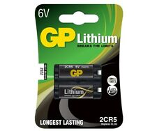 2CR5 6V 1,4Ah Batteria al Litio GP Batteries in blister
