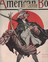 American Boy Magazine November 1926 Thanksgiving Cover Premium Catalog