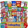 CollegeBox Care Package (45 Count) Snacks Food Cookies Chocolate Bar Chip Candy
