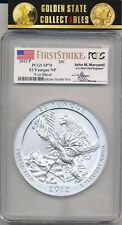 2012 P ATB 5 OZ. EL YUNQUE NP PCGS SP70 FIRST STRIKE MERCANTI LABEL KEY COIN!