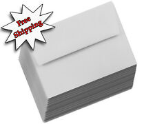 Pastel Gray Envelopes for Announcement Wedding Invitation Greeting Card Grey