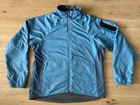 Marmot Windbreaker Insulation Fully Lined Jacket Woman's - XL - Blue / Grey VGC!