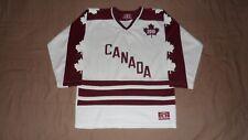 Team Canada White Youth Size XL IIHF Hockey Jersey