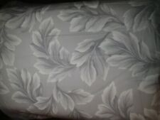 JCPenney Gray Floral Sateen 2 Piece 80 x 84 Drapery Panel Set