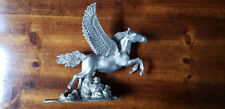 Fine Pewter Pegasus Limited Edition Winged Horse Sculpture
